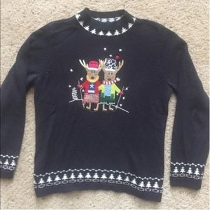 Christopher & Banks Christmas Holiday Sweater